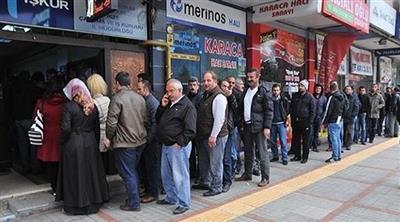 ارتفاع معدل البطالة التركي إلى 11% في العام الماضي