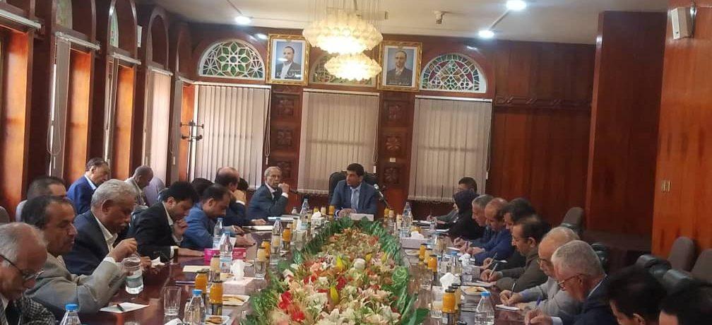 جمعية البنوك اليمنية تناقش مع محافظ البنك المركزي القضايا التي تخص قطاع البنوك