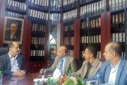 الاتفاق على فتح نافذتين لغرفة تجارة الأمانة في مكتب ضرائب الأمانة ووحدة كبار المكلفين بالمصلحة